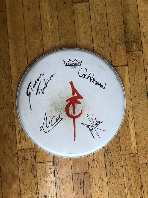 Signed Drum Skin
