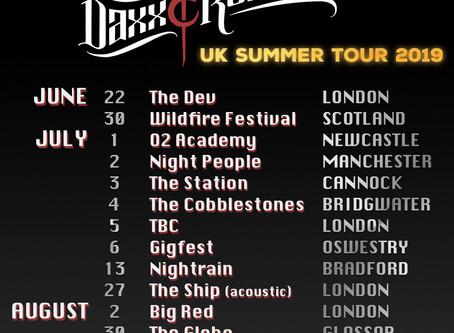 UK Summer Tour 2019