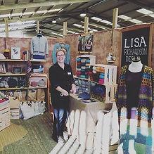 Lisa Richardson at Yarndale2019