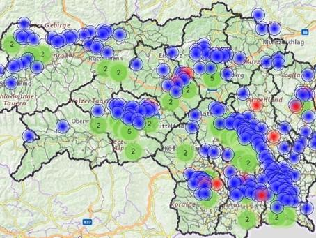 Schweres Unwetter über Laßnitzhöhe