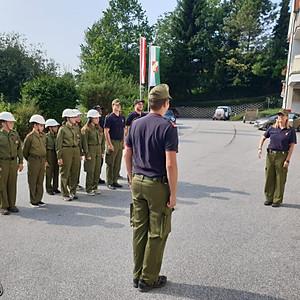 24 Stunden-Übung Feuerwehrjugend