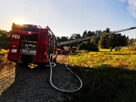 B12 Wohnhausbrand in Kainbach