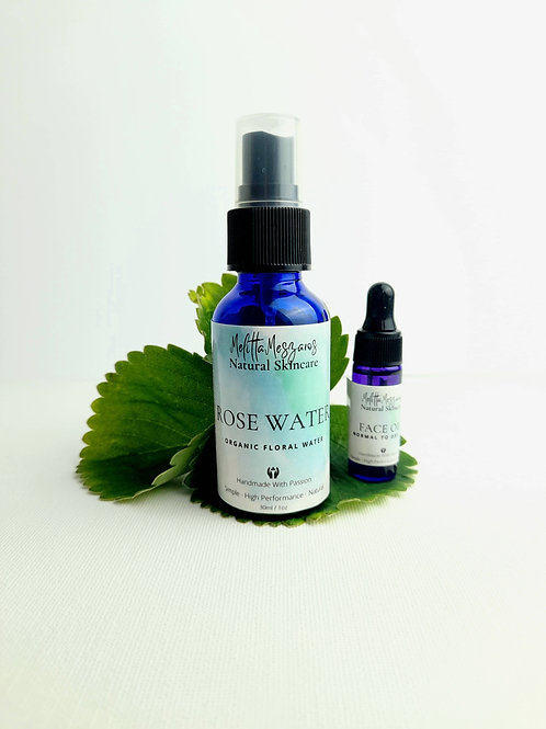 Travel Set with Rose water