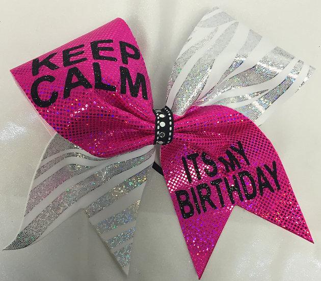Its My Birthday Bow