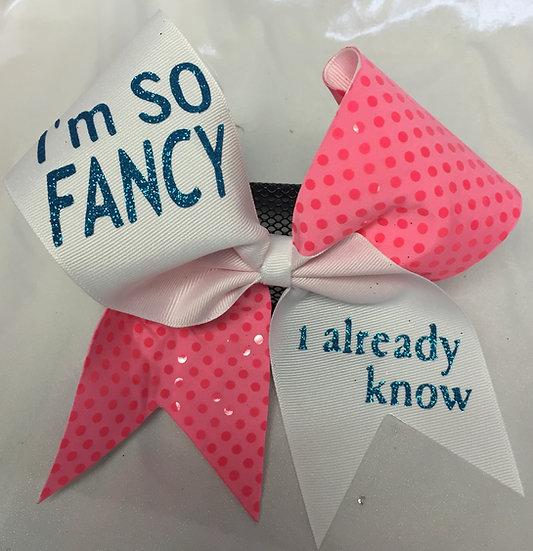 I'm So Fancy...