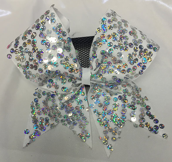 White Silver Sparkle