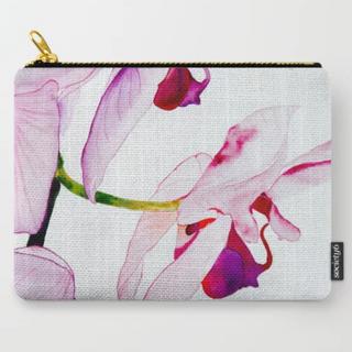 Orchids pouch