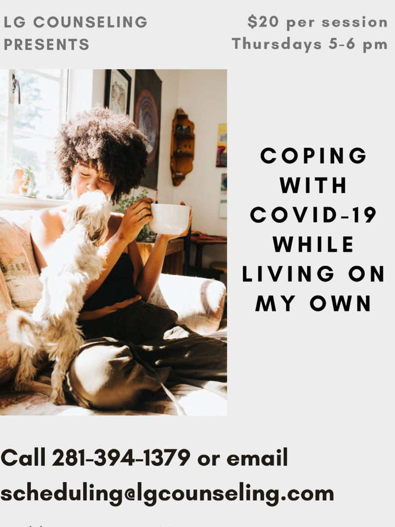 Group: Coping with Covid-19 While On Your Own