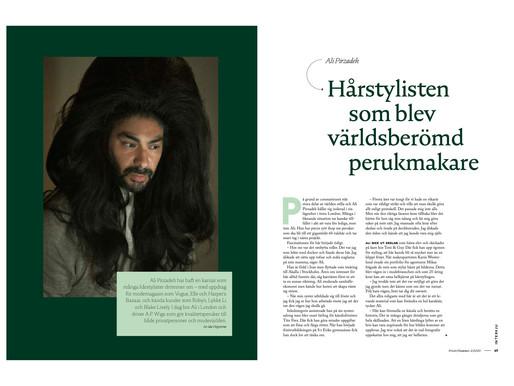 Intervju med hårstylisten Ali Pirzadeh