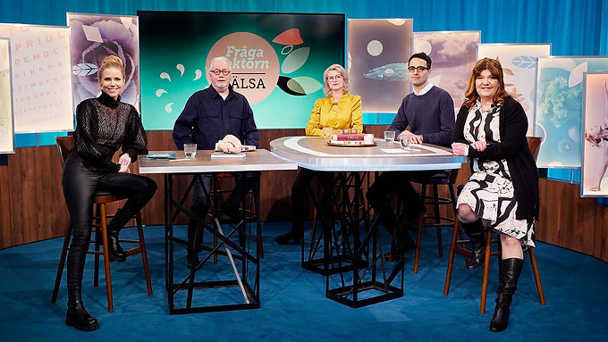 """Ida medverkar i """"Fråga doktorn hälsa"""" i SVT på temat beroende"""