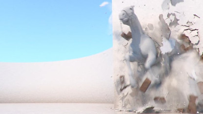 Dubai TV Identity 2018 (Old Dubai Graffiti wall destruction test)