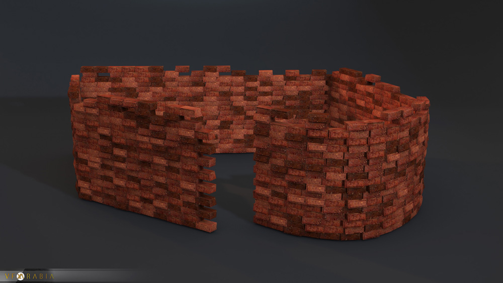 Brick wall builder Random Mat IDs