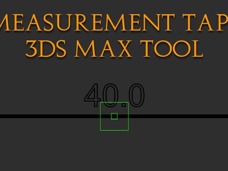Maxscript Measurement Tape: