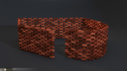 Brick wall builder style 4