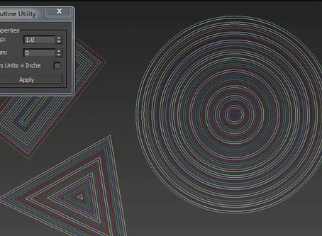 Maxscript Outline Creator 1.0: