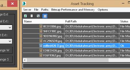 Change textures Extensions (3ds max script)