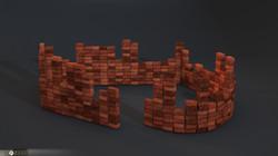 Brick wall builder Random count