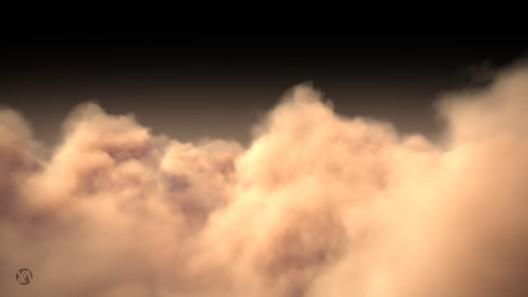 Cloud Fly Through