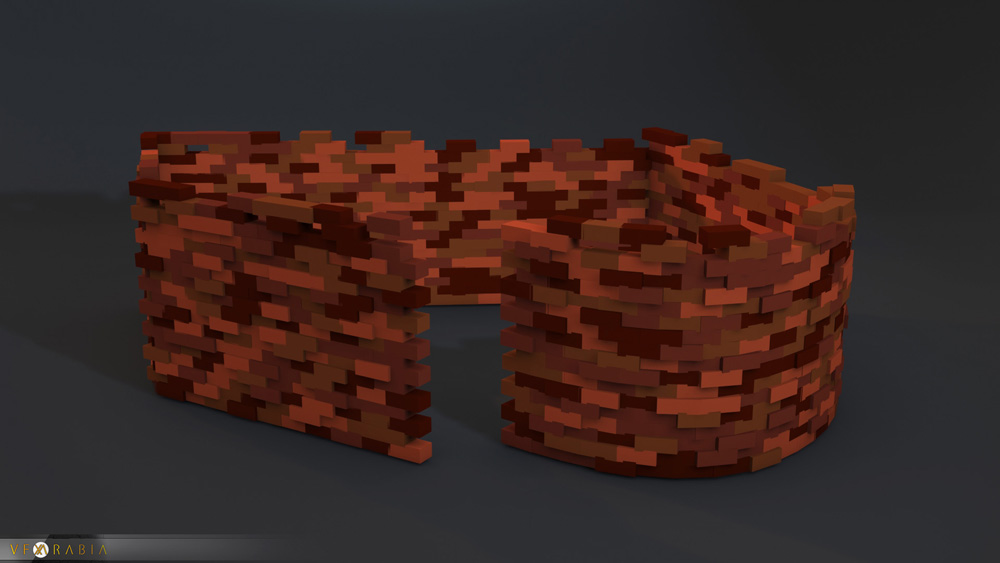 Brick wall builder Proxy Mode
