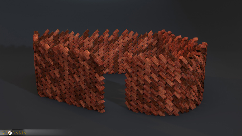 Brick wall builder style 2