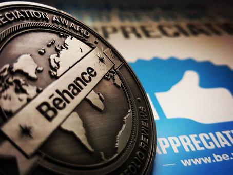 Behance Appreciation Award granted.....