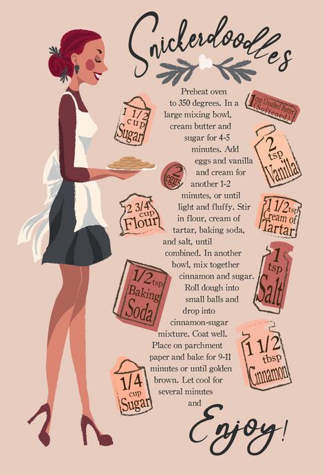 Snicker Doodle Recipe