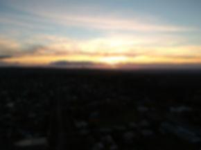 Daylesford at sunset.JPG
