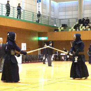 第8回かわしん剣道大会 第3位 藤井選手