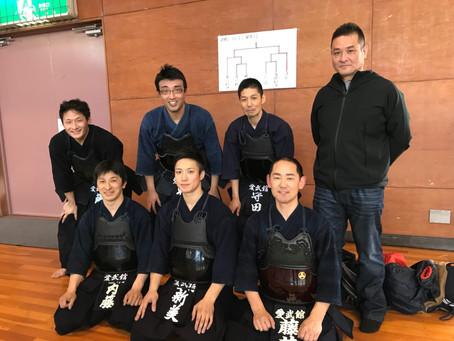 第56回 東三河剣道大会(御津大会)一般の部 準優勝!!