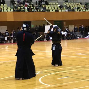 第8回かわしん剣道大会 第3位 内藤選手