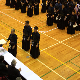第8回かわしん剣道大会 第3位 表彰式