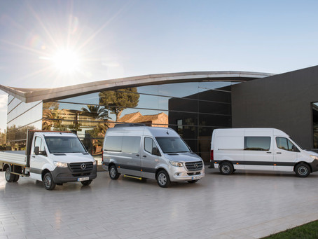 The world premiere of the new Sprinter