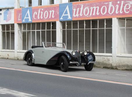 Journey with a 1937 Bugatti 57 S
