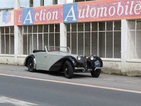 Journey with a 1937 Bugatti 57 S