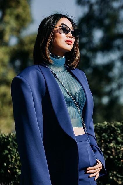 Charlotte Deckers Photography   FashionWeek Paris SS19 Fashion Streetstyle Aimee Song