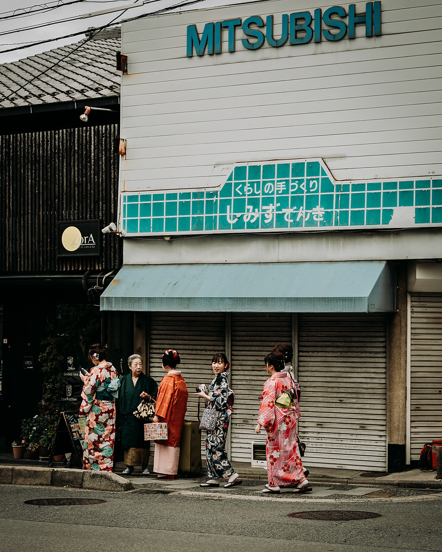 Charlotte Deckers Photography | Travel Photo Japan | Geisha in the Streets Kyoto