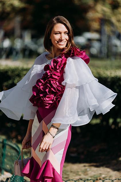 Charlotte Deckers Photography   FashionWeek Paris SS19 Fashion Streetstyle Landiana
