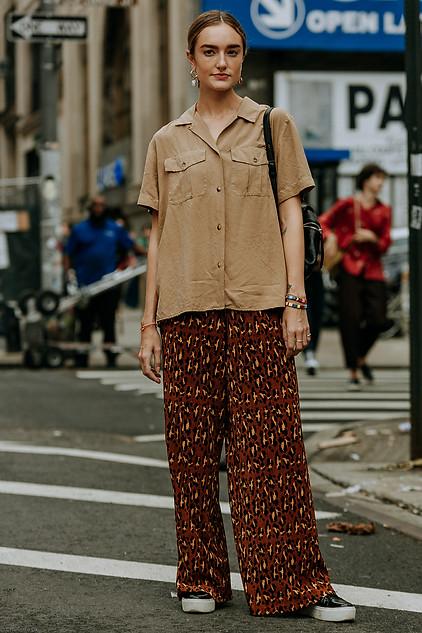 Charlotte Deckers Photography   FashionWeek NewYork SS19 Fashion Streetstyle Hannah Baxward