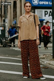 Charlotte Deckers Photography | FashionWeek NewYork SS19 Fashion Streetstyle Hannah Baxward