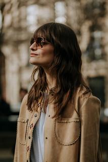 Charlotte Deckers Photography | FashionWeek Paris AW20 Fashion Streetstyle Miumiu Clara Luciani