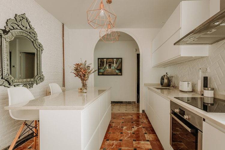 Charlotte Deckers Photography   Interior Photographer   IMMO Apartment Kitchen