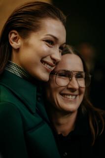 Charlotte Deckers Photography | FashionWeek Paris AW20 Fashion Backstage Lacoste Bella Haddid & Louise Trotter