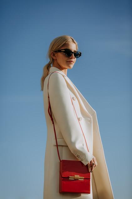 Charlotte Deckers Photography   FashionWeek Paris AW20 Fashion Streetstyle Caro Daur