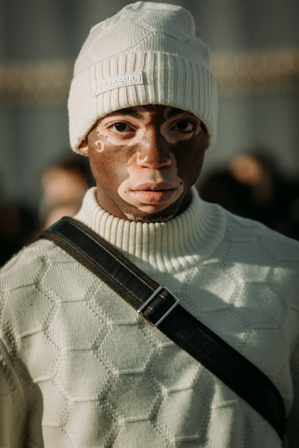 Charlotte Deckers Photography | FashionWeek Paris AW20 Fashion Streetstyle Model Terence Munzemba