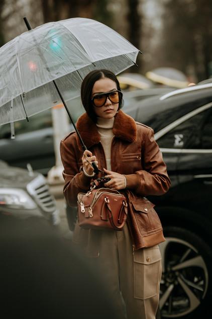 Charlotte Deckers Photography   FashionWeek Paris AW20 Fashion Streetstyle Yoyo Cao