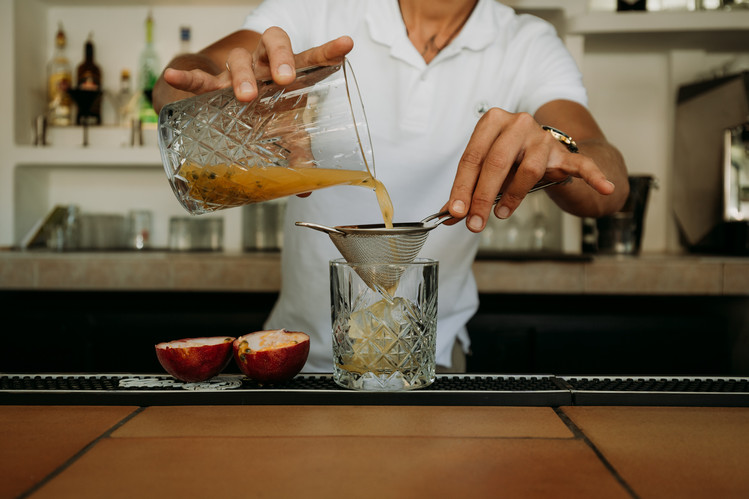 Charlotte Deckers Photography   Hotel Photographer   Bartender making