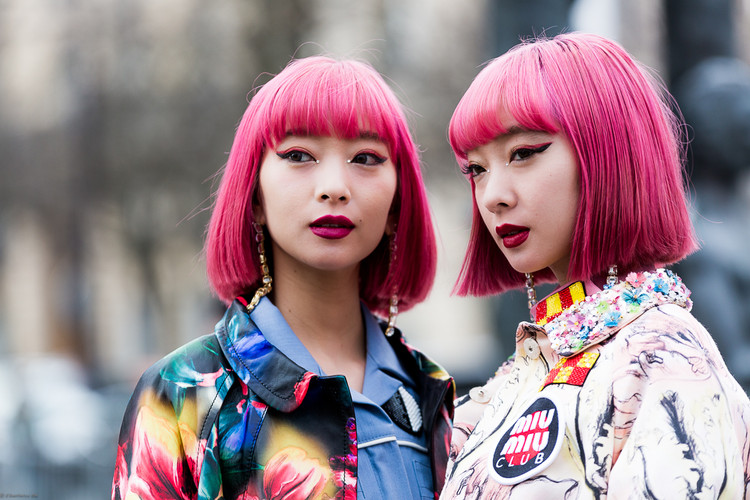 Charlotte Deckers Photography | FashionWeek Paris SS18 Fashion Streetstyle Aya & Ami xxamiaya