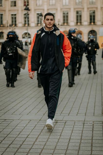 Charlotte Deckers Photography   FashionWeek Paris AW20 Fashion Streetstyle Lacoste Fai Khadra