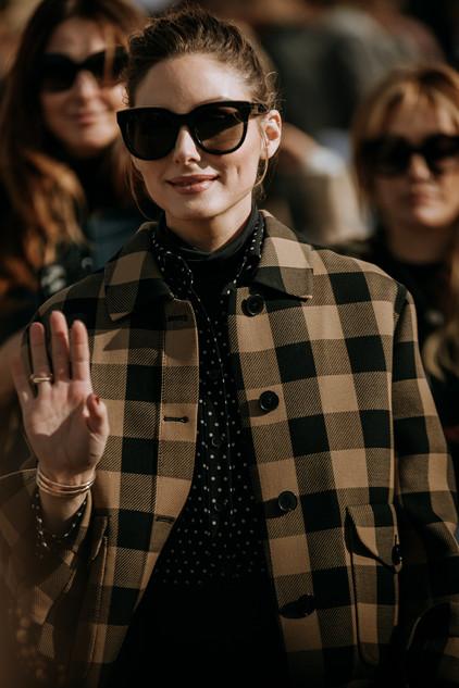 Charlotte Deckers Photography   FashionWeek Paris AW20 Fashion Streetstyle Dior Olivia Palermo