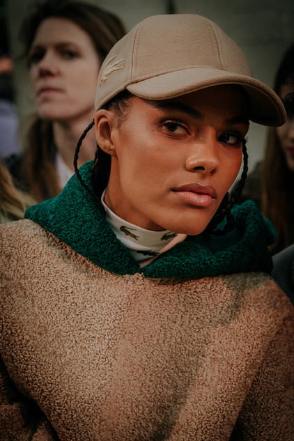 Charlotte Deckers Photography   FashionWeek Paris AW20 Fashion Runaway Lacoste Tina Kunakey